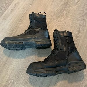 "Bates 8"" Tactical Sport Side Sip Boots Black"